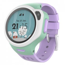 smart watch kids purple camera circular silicone buy in xcite Kuwait