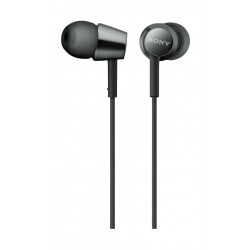 Sony 9mm In-line Earphone (MDREX155APBQE) - Black