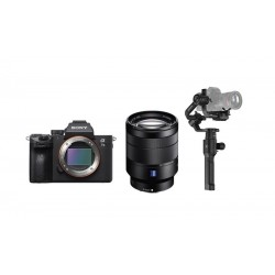 Sony Alpha A7 III Mirrorless Digital Camera With 28-70mm Lens + Dji Ronin-S- 3-Axis Stablizer For DSLR