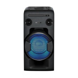 Sony MHC-V11D Bluetooth Potable Audio System - Front View with light