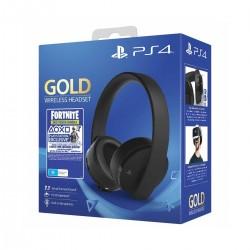 Sony Fortnite Neo Versa Gold Wireless Headset - Black