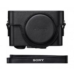 Sony Premium Jacket Case for Cyber-shot Camera (LCJ-RXF) - Black