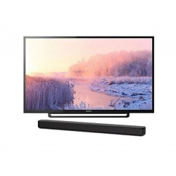 Sony 32 inch HD LED TV + Sony 120W Soundbar (HT-S100F)