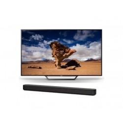 Sony Bravia 48-Inch Full HD (1080p) Smart LED TV + Sony 120W Soundbar (HT-S100F)