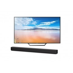SONY 32 inch HD Smart LED TV + Sony 120W Soundbar (HT-S100F)