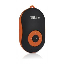 Trekstor I.Beat Soundbox Bluetooth MP3 Player – Orange/Black Front