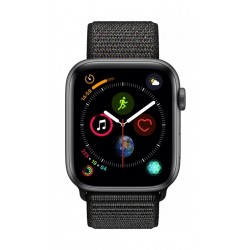 Apple Watch Series 4 44mm, Space Grey Aluminium Case, Black Sport Loop