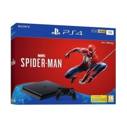 Spider Man 1TB PS4 Console - Black + Marvel Spider Man Game