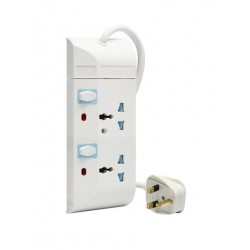 Philips 2-Sockets Power Extension 3M (SPN1621WB/56) - White