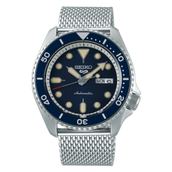 Seiko 42mm Mechanical Analog - With Metal Strap Gents Watch - (RPD71K1)