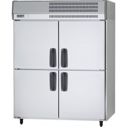 Panasonic 4-Door 39 CFT Upright Commercial Refrigerator (SRR-K1281-ME) - Stainless Steel