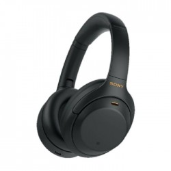 Sony Wireless Noise Canceling Over-Ear Headphone (WH-1000XM4/BME) - Black