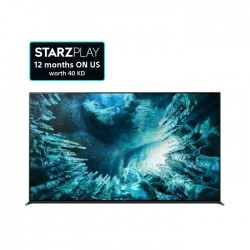 """Sony TV 75"""" Android 8K LED - (KD-75Z8H)"""