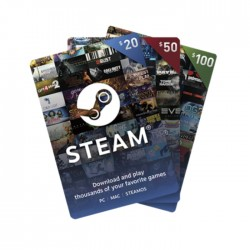 Steam Wallet Cards - $50