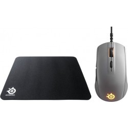 Steelseries QcK Mass Gaming Mouse Pad + SteelSeries Rival 110 Gaming Mouse