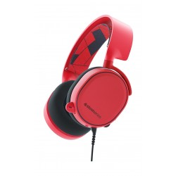 SteelSeries Arctis 3 Gaming Headset - Solar Red