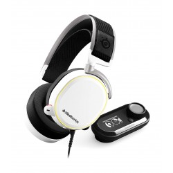 Steelseries Arctis Pro Wireless Gaming Headset - White + Game DAC