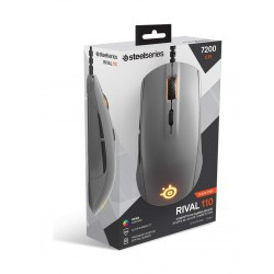 SteelSeries Rival 110 Gaming Mouse - Slate Grey