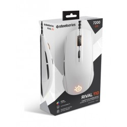 SteelSeries Rival 110 Gaming Mouse - White