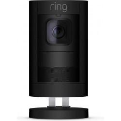Ring Stick-Up- Battery Cam - Smart Home Security Camera - Black