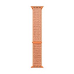 Apple 38-mm Spicy Orange Sport Loop (MQW12FE/A) - Front