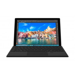 Microsoft Surface Pro 4 Core i5 4GB RAM 128GB SSD 12.3-inch Tablet + English & Arabic Keyboard - Black
