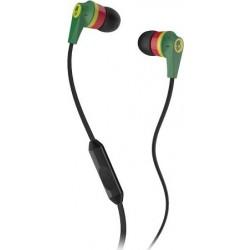 Skullcandy Ink'd 2.0 Rasta S2IKDY-102 Earbud Headphones with Mic