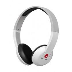 Skullcandy Uproar Wireless Headphones with Microphone - White/Grey