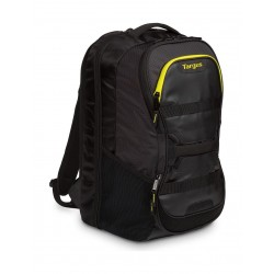 Targus Work & Play Fitness 15.6-inch Laptop Backpack (TSB944EU) - Black / Yellow