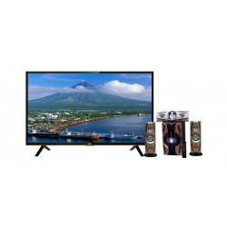 TCL 32 inch HD LED TV LED32D2900 + NHE 3000W Bluetooth Speaker