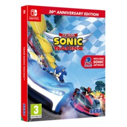 Team Sonic Racing Game 30th Anniversary Edition Nintendo Switch