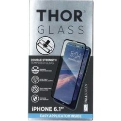 Thor Tempered Glass Protection For iPhone XR (33565) - Black