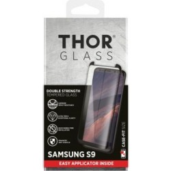 Thor Tempered Glass Protection For Galaxy S9 (33742) - Black