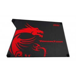 MSI Thunderstorm Aluminum Gaming Mouse Pad (GF9-V000001-EB9) - Black