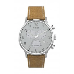 Timex 40mm Chronograph Leather Strap Watch - (TW2T71200)