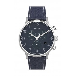 Timex 40mm Chronograph Leather Strap Watch - (TW2T71300)