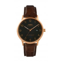 Timex 40mm Gent's Analog Leather Watch - (TW2T70100)