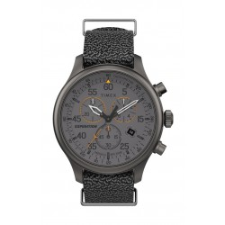 Timex 43mm Gent's Chronograph 43mm Fabric Strap Watch - (TW2T72900)