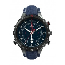 Timex 45mm Gent's Chronograph Fabric Strap Watch - (TW2T76300)