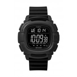 Timex BST.47 47mm Gent's Rubber Strap Digital Watch (TW5M26100) - Black