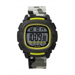 Timex BST.47 47mm Gent's Rubber Strap Digital Watch (TW5M26600) - Camo