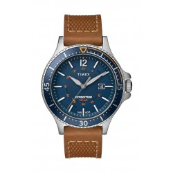 Timex Expedition Ranger Solar 43mm Leather Strap Watch (TW4B15000) - Brown