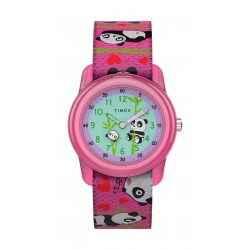 Timex 28mm Kids Unisex Analog Fashion Textile Strap Watch - (TW7C77100)