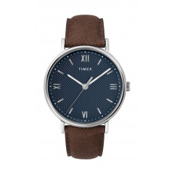 Timex Southview 41mm Leather Strap Watch (TW2T34800) - Brown