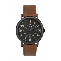 Timex Weekender 40mm 2-Piece Quick-Release Leather Strap Watch (TW2T30500) - Brown