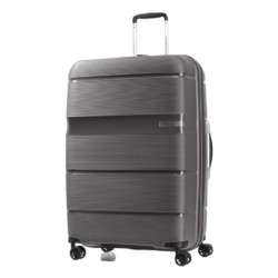 American Tourister Linex 66 CM Hard Luggage - Titanium