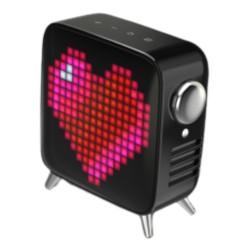Divoom Tivoo Max Pixel Art Black Wireless Speaker in Kuwait   Buy Online – Xcite