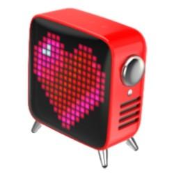 Divoom Tivoo Max Pixel Art Red Wireless Speaker in Kuwait   Buy Online – Xcite