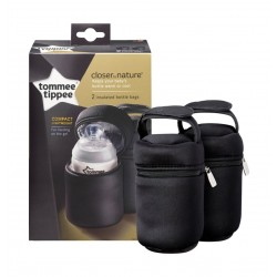 Tommee Tippee Closer To Insulated Bottle Carriers Twin Pack - TT43129371
