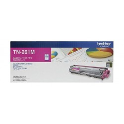 BROTHER Toner TN261M for LaserJet Printing 1400 Page Yield - Magenta (Single Colour Pack)